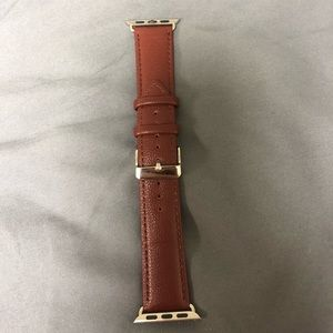 Apple Watch leather band 38mm. Brand new!!